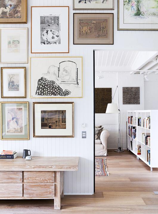 decorare quadri stanza