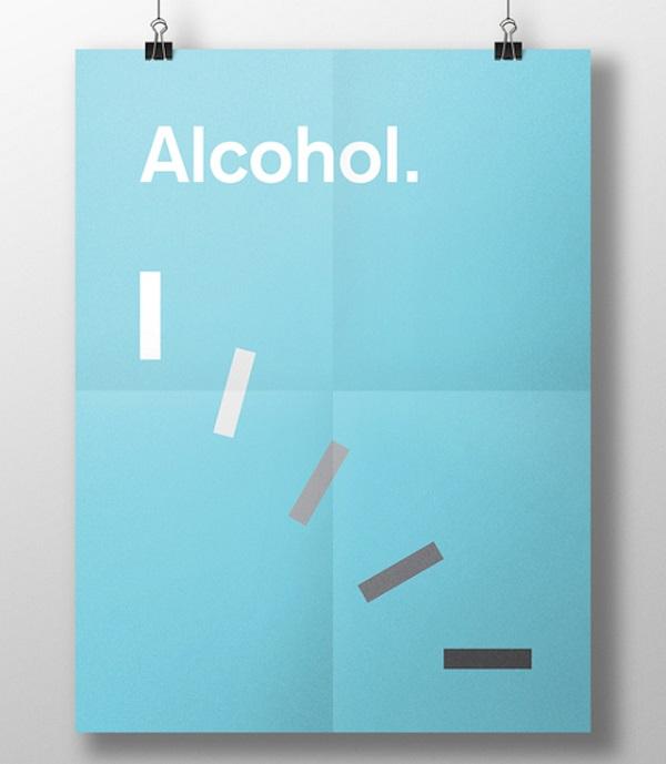 effetti visivi delle droghe alcohol