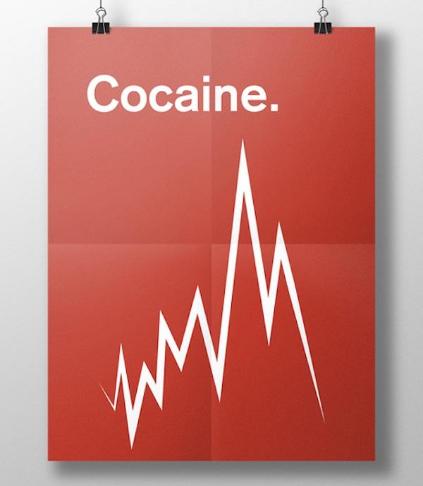 effetti visivi delle droghe cocaina