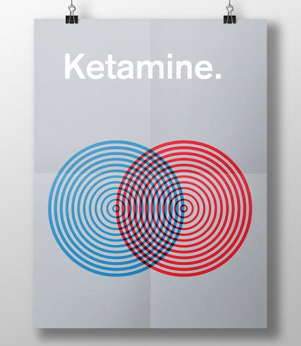 effetti visivi delle droghe ketamina