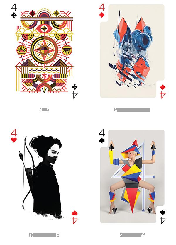 arte nelle carte da gioco