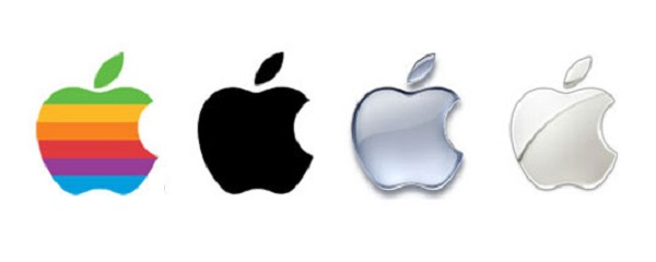 apple logo iconico