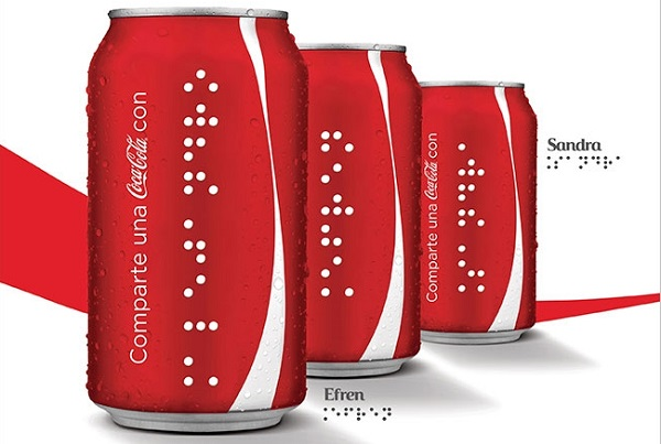 coca cola braille 2015