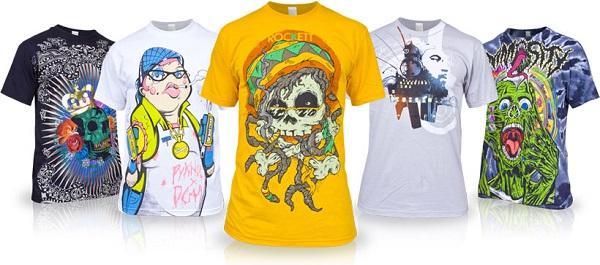 più recente 292b0 57654 Stampa su magliette e T-shirt, un modo (e una moda) per ...
