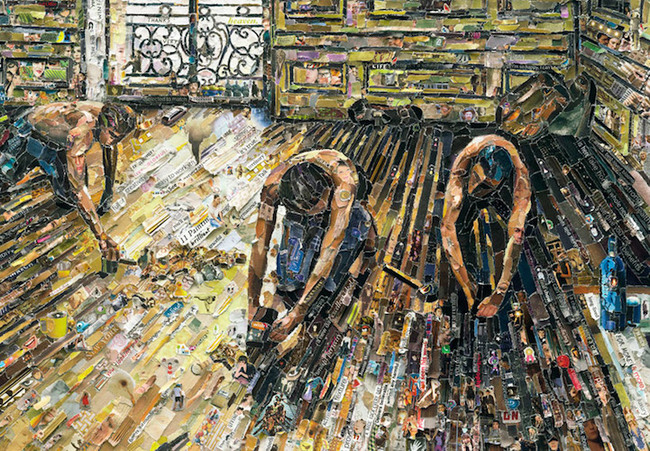 Raschietti per pavimenti di Gustave Caillebotte