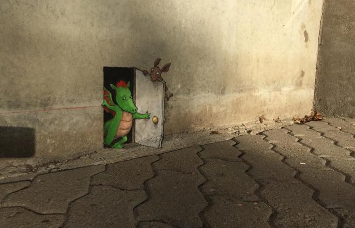 street art drago