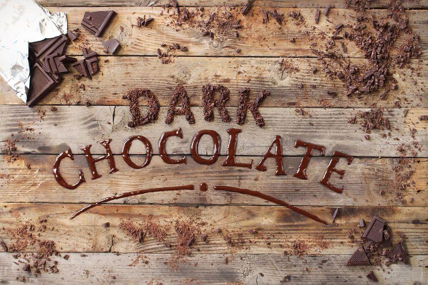 food-typography-cioccolato