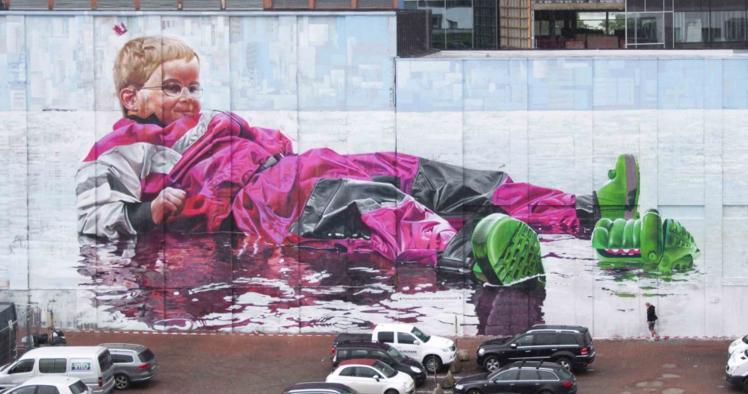 street art  intro parcheggio