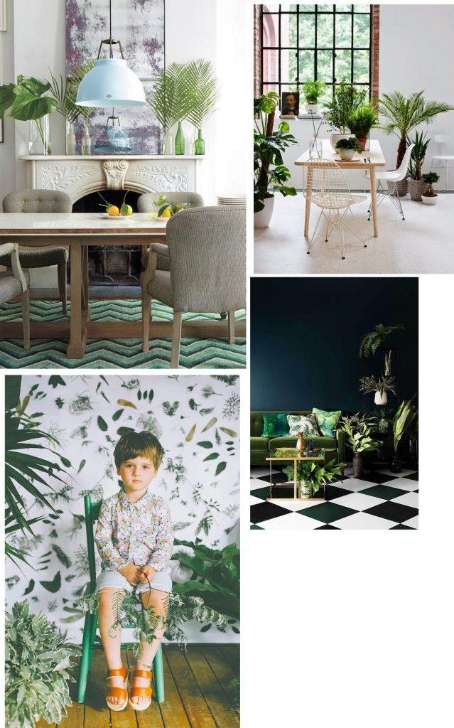 Le foglie tropicali ispirano la decorazione d interni for Blog decorazione interni