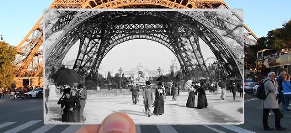 Parigi ieri e oggi